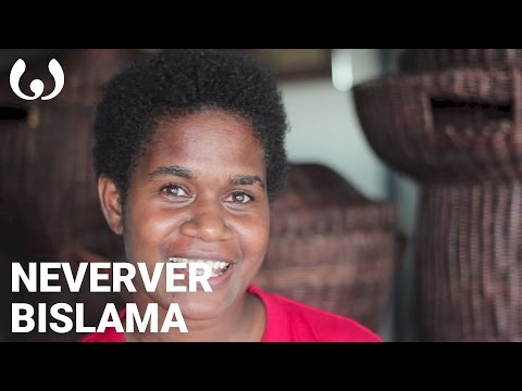 WIKITONGUES: Ladonna speaking Bislama and Neverver