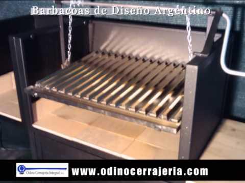 Parrillas argentinas barbacoas de dise o argentino youtube - Barbacoas de diseno ...