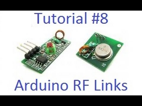 Arduino Tut  #8 - Wireless RF Links Tutorial & Noise Reduction