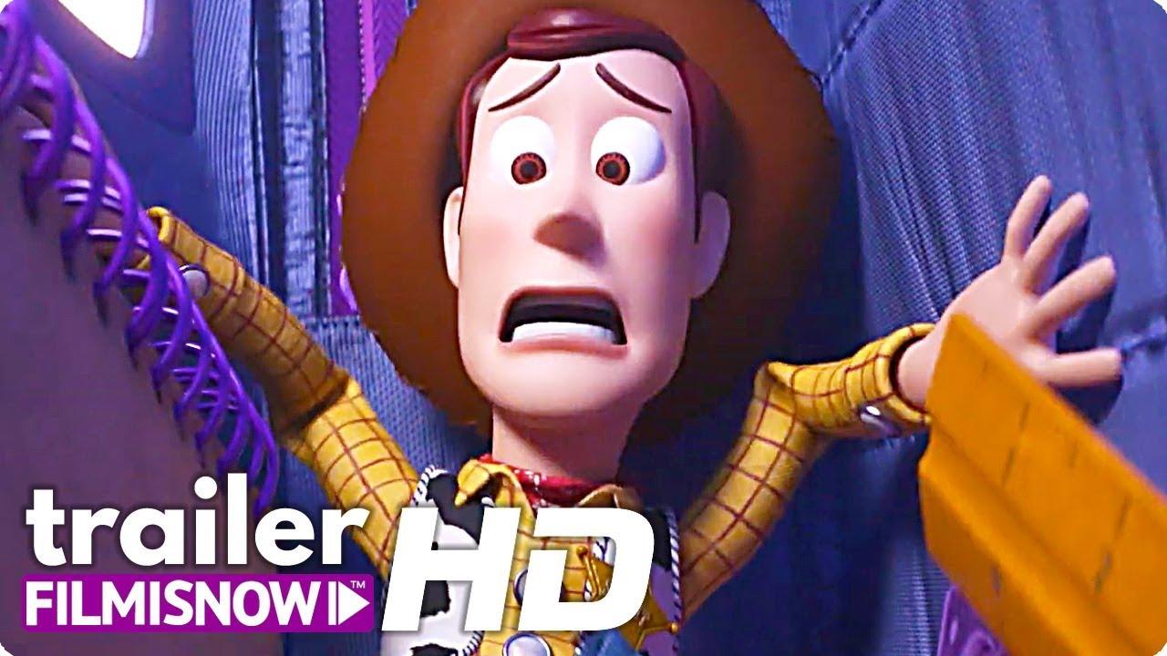TOY STORY 4  (2019) Trailer TV Brasileiro do filme Pixar