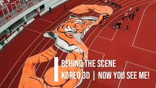 Now You See Me!  Behind The Scene  Koreo 3d - Curva Nord Persija