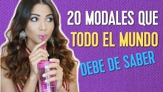 20 REGLAS DE MODALES QUE TODO EL MUNDO DEBE DE SABER | Doralys Britto