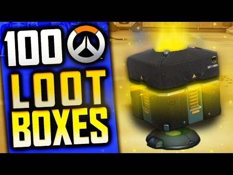 OVERWATCH 100 ANNIVERSARY LOOT BOX OPENING + NEW MAPS