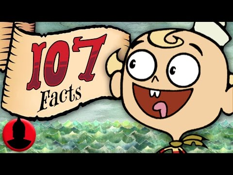 107 Marvelous Misadventures of Flapjack Facts! - Cartoon Facts! (107 Facts S6 E9)