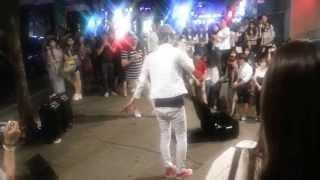 Уличные музыканты. улица Хондэ, Сеул.