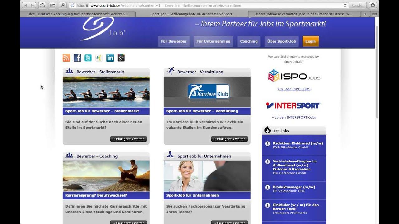 sport management wo finde ich jobs und praktika sport management wo finde ich jobs und praktika