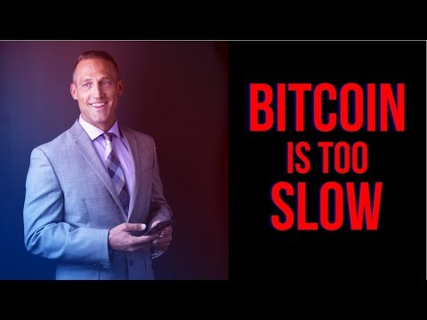 BITCOIN IS TOO SLOW | BUT IT'S A GOOD THING