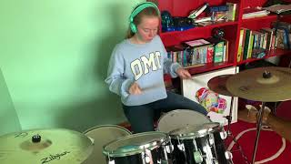 Tones And I - Dance Monkey (Drum Cover) | 12 Years Old