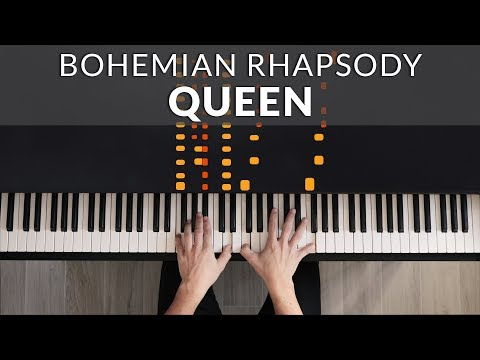 Bohemian Rhapsody Piano Tutorial Queen Freddie Mercury Doovi