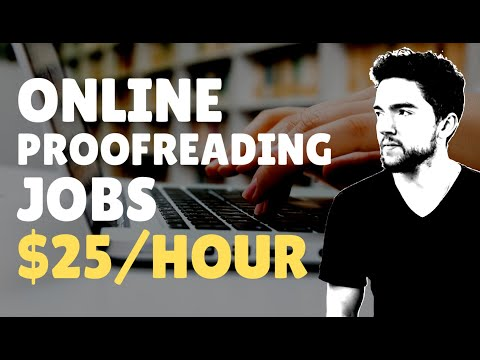 4 Work-From-Home Proofreading Jobs That Pay $25 Per Hour