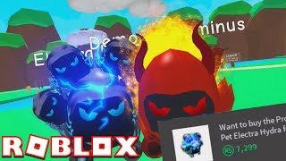 ELECTRA HYDRA EST TELLEMENT OP!! | Simulateur de Bubblegum (fr) Roblox