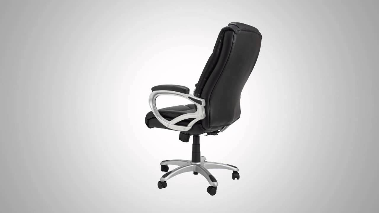 Samsonite San Mateo Big   Tall Premium Bonded Leather Office Chair    Official Product VideoSamsonite San Mateo Big   Tall Premium Bonded Leather Office Chair  . Samsonite Executive Leather Office Chair. Home Design Ideas