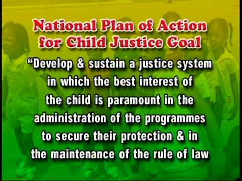 National Plan of Action for Child Justice - Jamaica