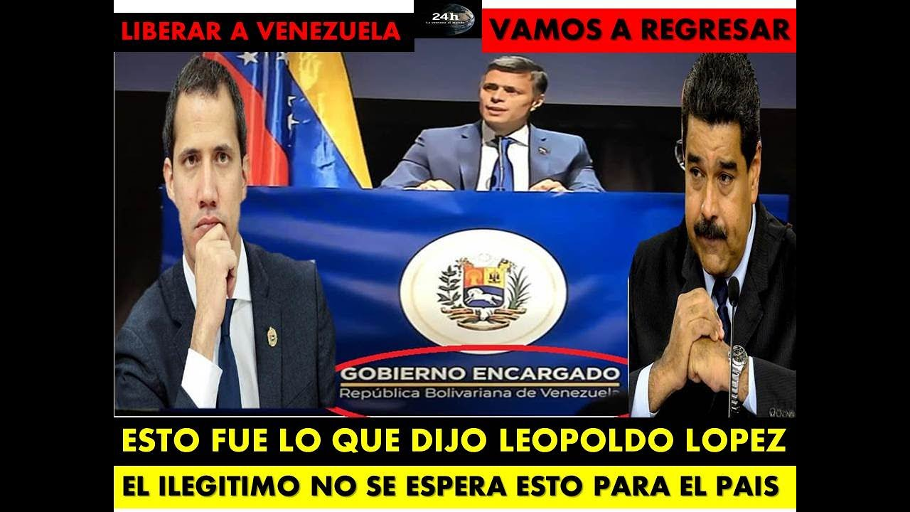 ESTO DIJO LEOPOLDO HOY EN ESPAÑA 🚀 ULTIMA HORA🚀 27-10-2020 🚀 VAMOS A LIBERAR VENEZUELA - SORPRESAS