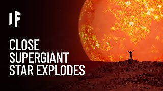 What If Betelgeuse Exploded Right Now?