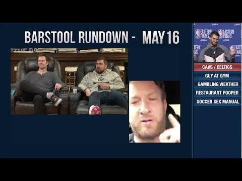 Barstool Rundown   May 16, 2018