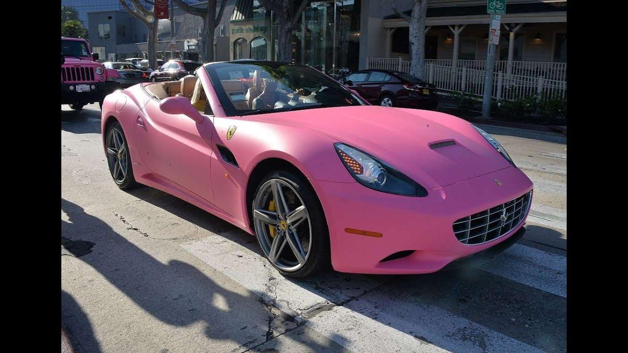 Los Carros Lujosos Y Caros De Los Famosos Ferrari Bentley