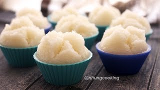 STEAMED SPONGY RICE CAKE (NO PROOF)