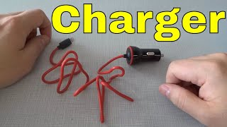 Anker Car Charger For iPhone-Review-Lightning Cable