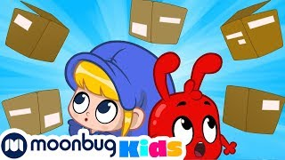 Morphle's Delivery Service - My Magic Pet Morphle | Cartoons For Kids | Morphle TV | Kids Videos