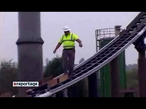 Der schnellste Job der Welt – Die ACHTERBAHN-DYNASTIE ProSieben-Reportage (2005)