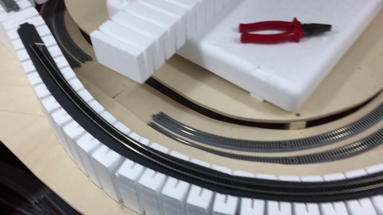 easy dcc wiring - flex track to kato unitrack