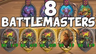 8 ANNIHILAN BATTLEMASTERS WITH GOLDEN BRANN in Hearthstone Battlegrounds!