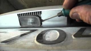 #фордфокус2 Форд фокус 2 меняем лампы подсветки номера