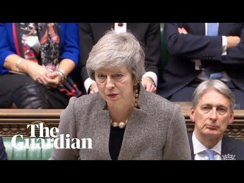 Theresa May makes