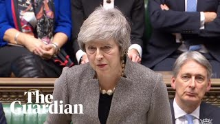 Theresa May makes statement to parliament after EU summit - watch live