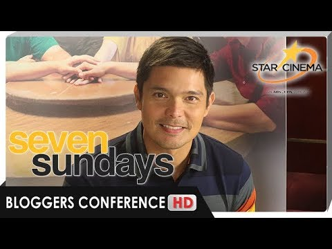 [FULL] 'Seven Sundays' Bloggers Conference with Dingdong Dantes - 동영상