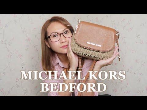 MICHAEL MICHAEL KORS BEDFORD SMALL FLAP XBODY BAG REVIEW | AN KLEH