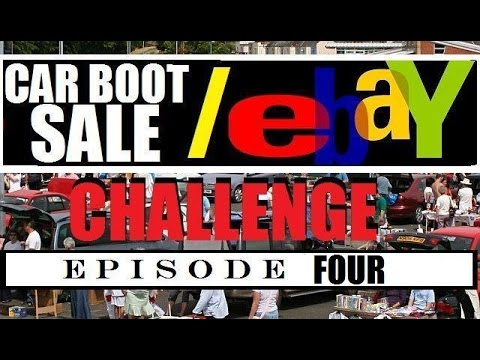 Car Boot Sale / Flea Market to EBay Challenge : Geek VS Nerd episode 4