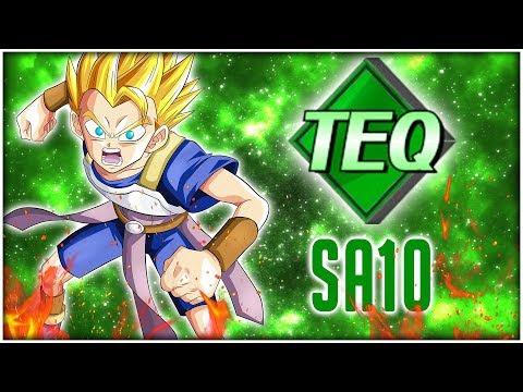 Super Attack 10 TEQ Showcase - SSJ Cabba | Dragon Ball Z Dokkan Battle