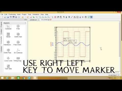 qucs programming : schmitt trigger by Brain coder school