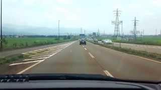 長岡バイパスにマリオカートの車がいた!新潟県長岡市 全国出張の旅