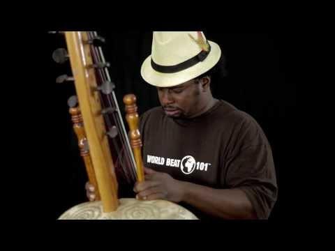 Amadou Kouyate Solo Kora - World Beat 101