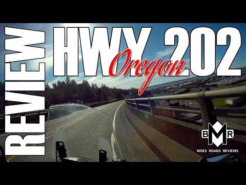 HWY 202 OREGON REVIEW - BEST MOTORCYCLE ROADS - KAWASAKI VERSYS