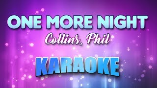 Collins, Phil - One More Night (Karaoke & Lyrics)
