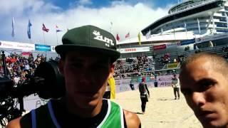 #BeachAzzurro #StavangerMajor - Paolo e Matteo Ingrosso e un bellissimo quarto posto