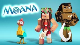 Minecraft Parody - MOANA! - (Minecraft Animation)