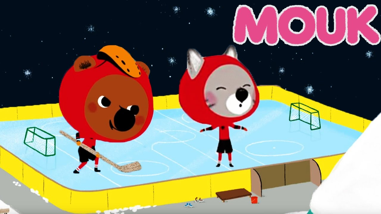 Mouk Mouk In Canada Shooting Stars And The Hockey Game Cartoons