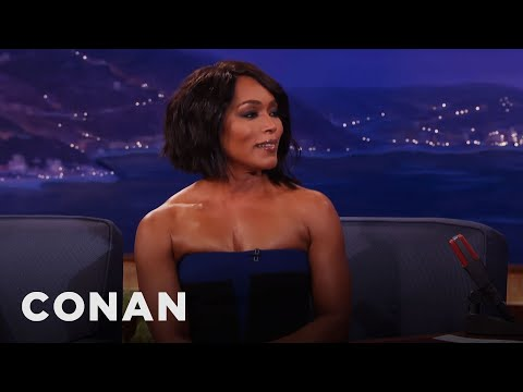 Angela Bassett On Her Sex  With Lady Gaga   CONAN on TBS
