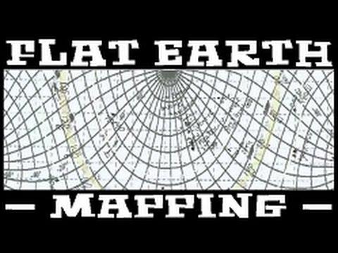 Globe Earth Absurdity - Flat Earth Map Flache Erde