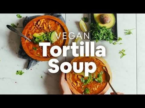 1-Pot Vegan Tortilla Soup | Minimalist Baker