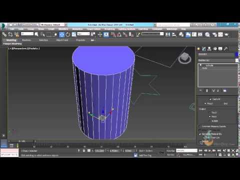 Thực hành 3ds Max – Bài 15: Lệnh extrude – Biến đổi đối tượng 2D thành 3D –  Phần 1