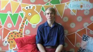 Tanner Blatter - преподаватель центра раннего развития на английском LittleLily