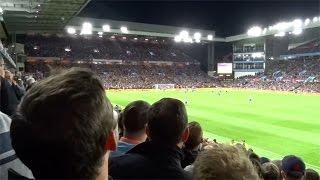 Birmingham fans at Aston Villa | Davo
