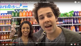 Cute moments with Liza Koshy & David Dobrik part 14 // davidxliza