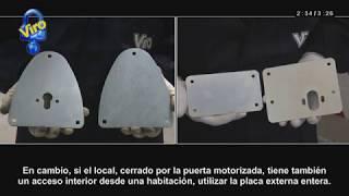 VICSPORT Cerrojo deslizante para puerta de ba/ño ventana puerta de jard/ín inodoro